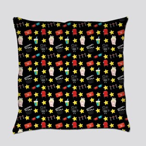 Movie Themed Items Pattern Everyday Pillow